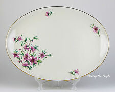 "HUGE! 19"" Oval Serving Platter, Excellent Condition! Peachtree, Lenox, W301"