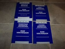 2002 Dodge Ram Van Wagon 1500 2500 3500 Shop Service Repair Manual Set