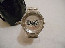 Montre Homme Strass Dolce & Gabbana D&G Mens Prime Time Watch Swarovski Diamanté