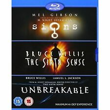 M Night Shyamalan Collection (Signs / The Sixth Sense / Unbreakable) Blu-ray