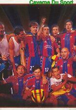 002 TEAM CAMPEONES DE LIGA 2/3 ESPANA FC.BARCELONA STICKER LIGA 98-99 PANINI