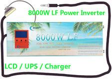 32000W Peak 8000W Low Frequency Pure Sine Wave Power Inverter 12V DC/110VAC 60Hz
