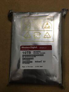 "NEW WD Western Digital Red WD101EFAX 10 TB Hard Drive HDD 3.5"" Internal Sata NAS"