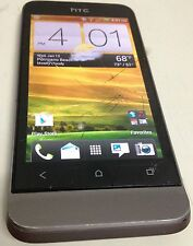 HTC One V 4GB Gray U.S. Cellular CDMA Smartphone Fair Condition Cracked Glass