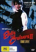 Eddie and the Cruisers II: Eddie Lives!  DVD Brand NEW