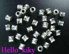 500 pcs Tibetan silver tube spacer beads A5038