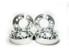 """4PC WHEEL SPACER ADAPTER 5X135MM & 5X5 (127MM) TO 5X5 (127MM) 1.5"""" CHROME"""