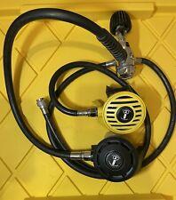 US Divers Aqualung Conshelf SE2 Regulator with Octopus and Inflator Hose