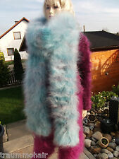Tb Fuzzy Langhaar Mohair Schal Schlauch Tube Scarf 240cm NEU super soft brushed