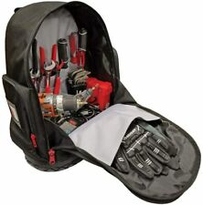 """Husky 18"""" Tool Backpack Durable Rubber Bottom Pockets For Tools Heavy Duty"""