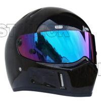 Full Face Motorcycle Helmet Kart Racing Helmets FRP Housing S-XXL