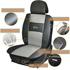 Universal Antislip Cushion Car Seat Covers PU Leather Protector Seats