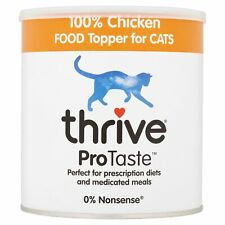 Thrive ProTaste 100% Chicken Food Toppers for Cats 170g food enhancer