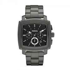 Fossil Quarz-Armbanduhren (Batterie) mit Edelstahl-Armband und Chronograph