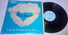 NEW SPIRIT I Can Do All Things Through Christ BLACK GOSPEL LP vinyl ST 81 1007