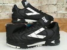 Vintage 1990s Mitre Hoddle Trainers Uk 6 US 7 Eu 39.5 Astro Football Shoe Black