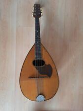 ALTE MANDOLINE 72 cm um 1900 VINTAGE Instrument ZUPFINSTRUMENT S SCHUTZ MARKE
