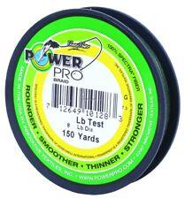 New! Power Pro Braided Line Moss Green - 150 Yds (Choose 5Lb - 50Lb 21100100150E