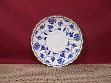Spode China England Blue Colonel Pattern Saucer 5 1/2""