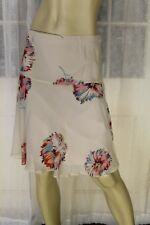 SIZE 8 JIGSAW FLORAL PRINT SILK SKIRT 🐧 FREE POST ON ANY 5 ITEMS