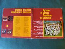 RYTHMES & DANSES POPULAIRES de ROUMANIE - 2 x LP gatefold French DEESSE DDLX 902