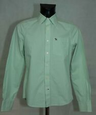 MENS Abercrombie & Fitch SHIRT LONG SLEEVE COTTON SIZE S EXCL
