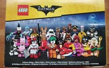 LEGO SERIES 1 BATMAN MOVIE MINIFIGURES 71017 FULL DISPLAY BOX OF 60 BLIND BAGS