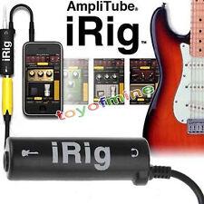 3.5mm Adaptador de  AmpliTube iRig de interfaz de guitarra para IOS dispositivos