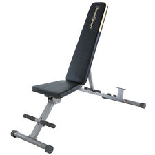 Fitness Reality 1000 Super Max Klappbare Hantelbank Trainingsbank Weight Bench