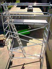 "Aluminium ""ECONOSCAFF"" Scaffolding, 225KG Mobile Scaffold - 6.5m Access Height"