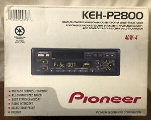 PIONEER KEH-P2800 multi-cd control high power cassette player w/ fm/am tuner nib