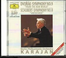 Dvorak / Symphony No.9 - Schubert / Symphony No.8 - Karajan - West German - MINT