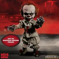 IT: Pennywise the Dancing Clown Talking Figure Mezco Toyz Designer Series MDS