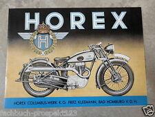 HOREX PROSPEKT 1938 S35 T5 T6 S5 S6 BAD HOMBURG MOTORRAD OLDTIMER
