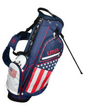New Hot-Z Golf 2020 Usa American Flag Golf Stand Bag - New Improved Style