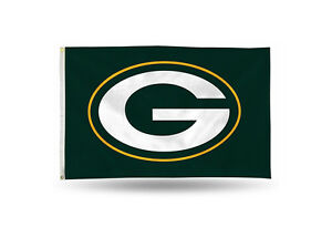 Green Bay Packers Authentic 3x5 Indoor/Outdoor Flag Banner NFL Hologram NWT
