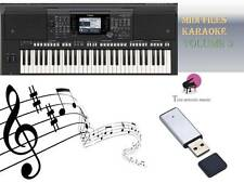 MIDI File Karaoke USB stick for PSR S750 S770 Vol 3 NEW