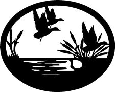 "Duck Hunting Wildlife Vinyl Car Decals Window Stickers (14"" x 11"")"