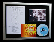 THE FALL Touch Sensitive LTD TOP QUALITY CD FRAMED DISPLAY+EXPRESS GLOBAL SHIP