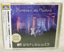 Florence + the Machine MTV Unplugged [Deluxe Edition] Taiwan CD+DVD w/OBI