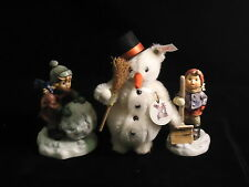 HUMMEL, FROSTY FRIENDS COLLECTOR'S SET, RETIRED, MIB