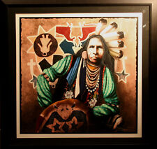 J.D. Challenger, Existing in Harmony, Hand Signed Art Serigraph SUBMIT AN OFFER