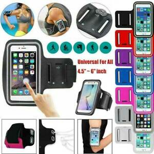For iPhone 8/7/6 Plus 12/11 Pro Phone Holder Exercise Bag Running Sport Arm Band