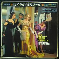 Robert Shaw - Operatic Overtures LP VG+ LSC-2416 Living Stereo SD USA Vinyl