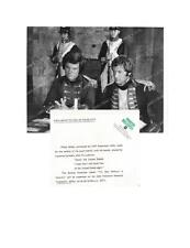 CLIFF ROBERTSON, LAURENCE GUITTARD Great ORIGINAL TV Photo MAN WITHOUT A COUNTRY