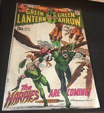 Green Lantern / Green Arrow #82 1st The Harpies Neal Adams Cover & Art 1971
