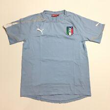 Puma FIGC Italia Men's T Shirt Embroidered Logo Size S Small