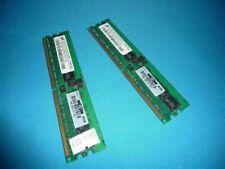 Lot 2pcs Mt18Htf12872Y-40Eb3 Server Ram 1Gb 1Rx4 Pc2-3200R