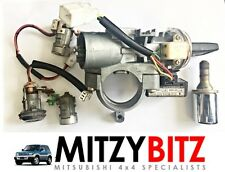 IGNITION BARREL, DOOR LOCKS & KEY for MITSUBISHI SHOGUN PININ 2000-2005