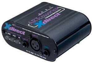 ART Xdirect - Active Professional DI Box **BRAND NEW**